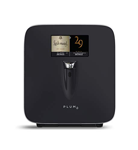 Plum Wine Dispenser - Wine Preserver and Automatic Refrigeration System with Integrated 7' HD Touch Screen for One Touch Dispensing