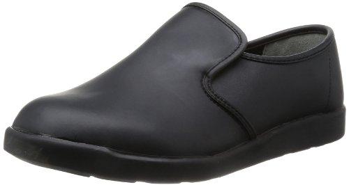 [ミドリ安全] 作業靴 耐滑 軽量 スリッポン ハイグリップ H800 メンズ ブラック 30.0(30cm)