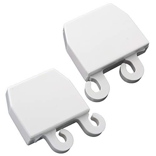 Price comparison product image Supplying Demand 3206165 & 3206166 Refrigerator Door Shelf End Cap Set Fits 5303209055 & 5303273100