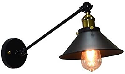 ZYT Ac220v-240v 4w e27 luces led zumbido pared lámpara de pared de hierro lámpara
