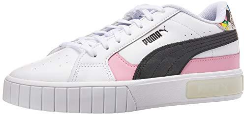 PUMA Cali Star INTL Game Puma White/Puma Black/Lilac Sashet 7 B (M)