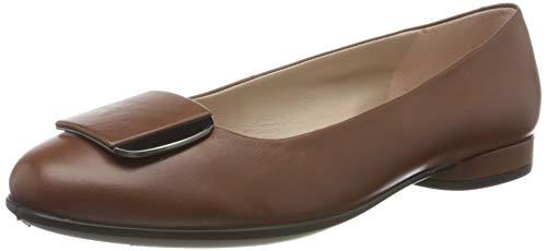 Ecco Damen ANINE Geschlossene Ballerinas, Braun (Cinnamon 1350), 38 EU