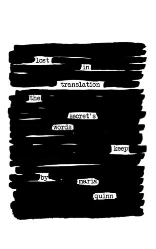 lost in translation:: the secret's words keep
