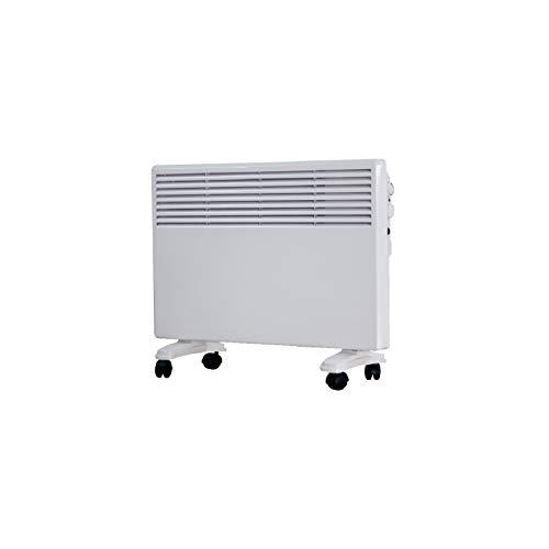 Convector digital led glass panel blanco 750w-1500w