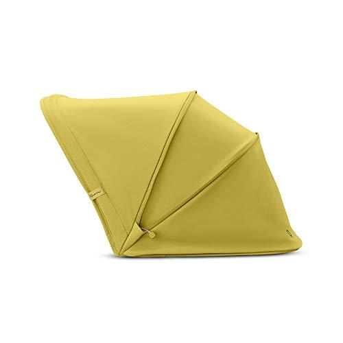 Quinny 1730400300 Hubb Sonnenverdeck, XL Sonnenblende für den Hubb Kinderwagen, Ochre on Graphite, gelb