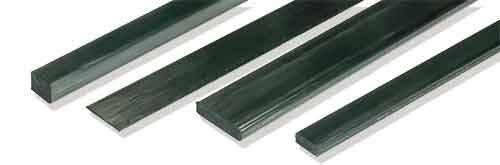 Goodwinds Composites .325' x .125' x 48' Solid Flat Carbon Rod