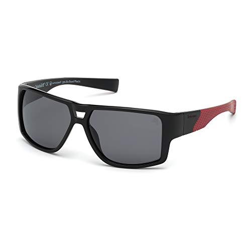 TIMBERLAND EYEWEAR Herren Tb9204 Sonnenbrille, Schwarz, 60