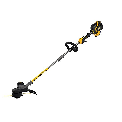 DEWALT FLEXVOLT 60V MAX String Trimmer, Brushless, Two Speed, 15-Inch, 3-Ah Battery (DCST970X1)
