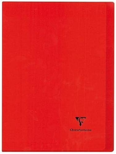 Notizbuch Kover Book 170 220, 96P. 48 att, 90 m2 Stücken, Couv. blickdicht rot, SEYES 10 ück