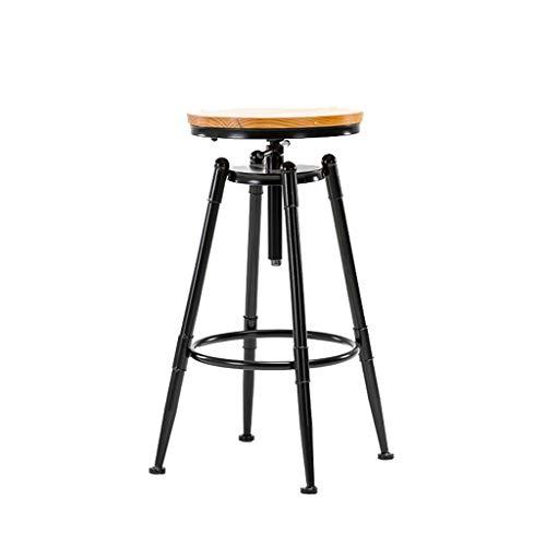 WHYDIANPU Strijkijzer kruk stoel bar stoel bar stoel restaurant cafe kinderstoel Draaistoel Multifunctionele kruk Without Backrest