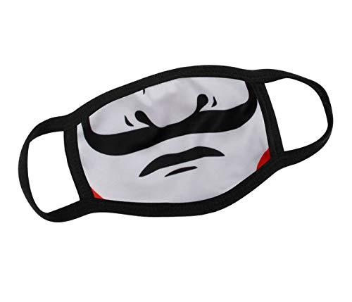 Alsino Mundschutz Maske Motiv Haus des Geldes waschbar - Filter Mund- Nasenschutz Stoffmaske Gesichtsmaske Stoffmasken Witzig