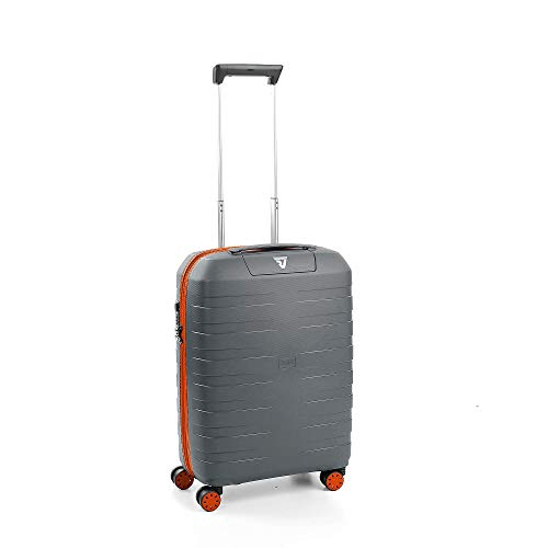 Roncato Maleta Pequeña XS Rigida Box Young - Cabina cm. 55 x 40 x 20 Capacidad 41 L, Ligero, Organización Interna, Cierre TSA, Aprobado para: Ryanair Easyjet Lufthansa,