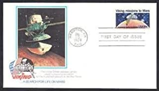 Viking Missions To Mars First Day Cover Cachet - 1978 Search For Life On Mars FDC #1759