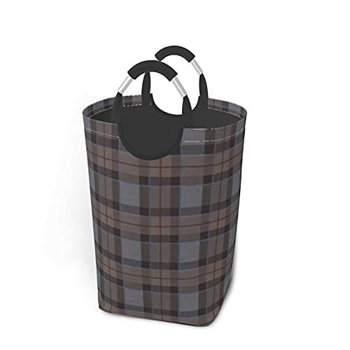 Fraser Caza Tartan Plaid Outlander Square Sucio bolsa de ropa organizador de ropa sucio plegable cesta de lavandería extra grande