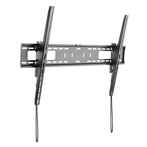 StarTech.com TV Wandhalterung für Flachbildfernseher - für 60 bis 100 Zoll Monitore - VESA Norm - Stahl - belastbar
