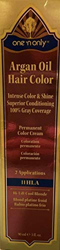 One 'n Only Argan Oil Permanent Hair Color 11HLA Hi-Lift Cool Blonde