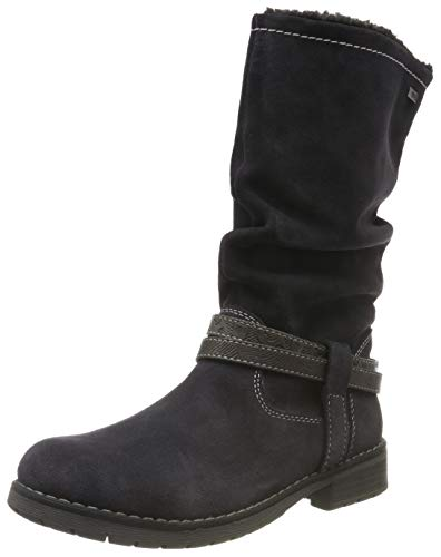 Lurchi LIA-TEX Hohe Stiefel, Grau (Charcoal 25), 36 EU