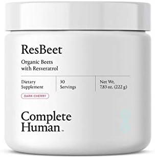 ResBeet Organic Beet Root Powder Supplement with Resveratrol