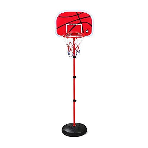 XZYB-lqj Songmin Kind Basketballkorb-Set Mit Kugeln Drinnen Draußen Kinder Basketball-Ständer Sehr Gut Geeignet Für Kinder Höhenverstellbar: 72-150cm Basketball-System (Color : B)