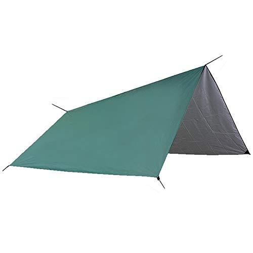 L.J.JZDY Toldo de Vela La Cortina de Sun Refugio Tienda Impermeable Lona Toldo Ultraligero Jardín Techo de sombrilla Camping al Aire Libre 3x3m Sun Shade Cloth