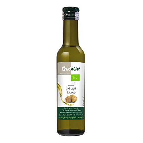 Crudolio - Olio extravergine di oliva al tartufo bianco bio 250 ml