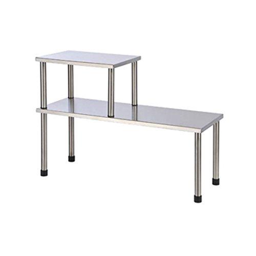 Küchenregal Edelstahl 45x16 & 22x16 Spülbeckenregal