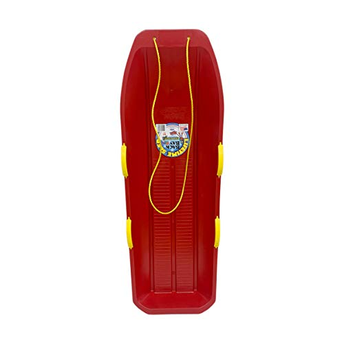 Back Bay Play Lifetime Snow Racer Heavy Duty-Two-Rider (Cherry Red)