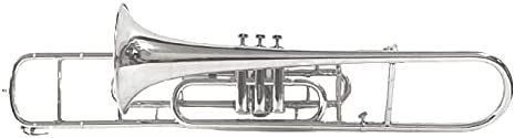 SHREYAS Valve Trombone Nickel Omaha Mall Bb SHRY072 Detroit Mall Plated