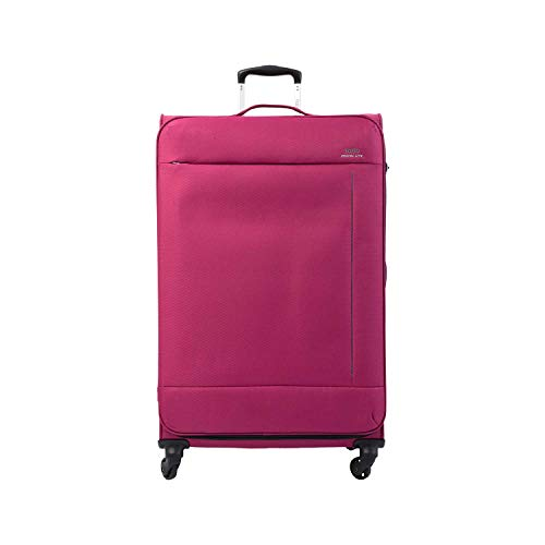 Totto-Maleta 4 Ruedas Grande Color Fucsia - Travel Lite