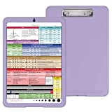 Nursing Clipboard with Storage by Tribe RN - Nurse Clipboard with Quick Access Cheat Sheet and Online Clinical Resource Library for Nurses and Nursing Students (Office Product)