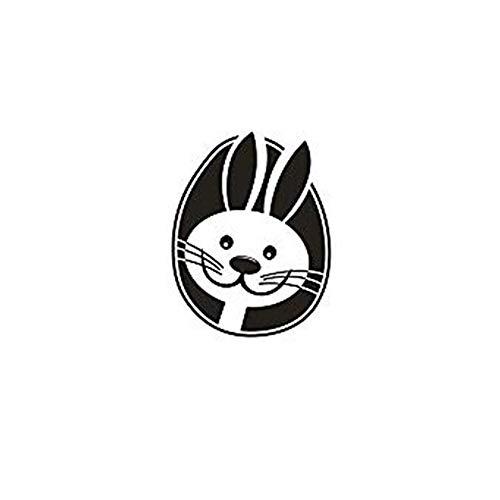 Aploa Osterhase Fensterdeko Kunst Aufkleber Wandtattoos Vinyl Wandaufkleber Für Kinder Kinderzimmer Kindergarten Schlafzimmer Büro Dekor Wohnheim Wandbild Tapeten Modern