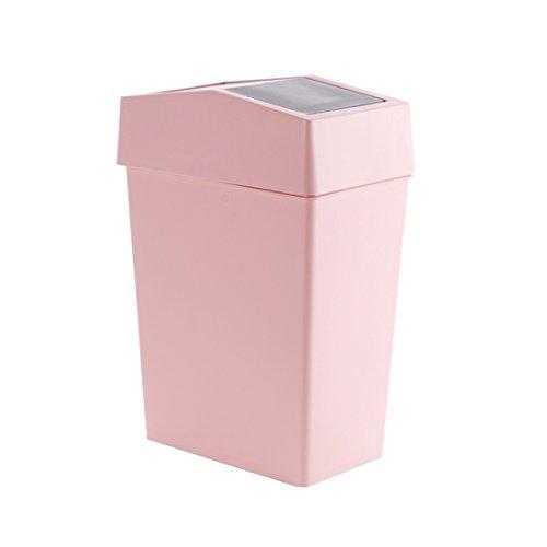 Bacs à ordures extérieurs fuckluy La place du couvre-culasse Poubelle accueil chambre salon cuisine toilettes grand panier panier en plastique 25*37cm, toner