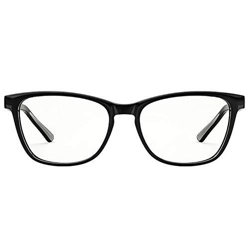 HSPRO Blaulichtfilter Brille, Fashion quadratische Brillenfassung gegen Augenbelastung & UV-Blendung Computer- / Lese- / Spiel- / TV- / Telefonbrille für Damen und Herren