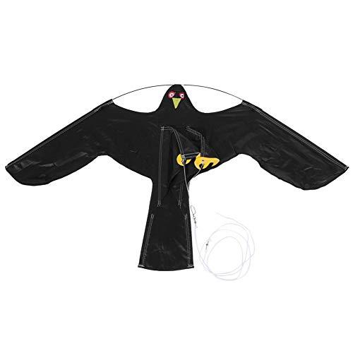 Liineparalle Kite te weren Vogels Uitschuifbare VogelRepeller Scarer Vliegende Adelaar Kite met 7m Telescopische Paal voor Rricefield Vogels te Repell
