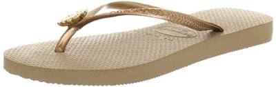 Havaianas Women's Slim Flip Flop Sandals, Crystal Poem