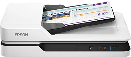 Epson WorkForce DS-1630 DIN A4 Dokumentenscanner (600dpi, USB 3.0, Duplexscan, Drei-Pass)
