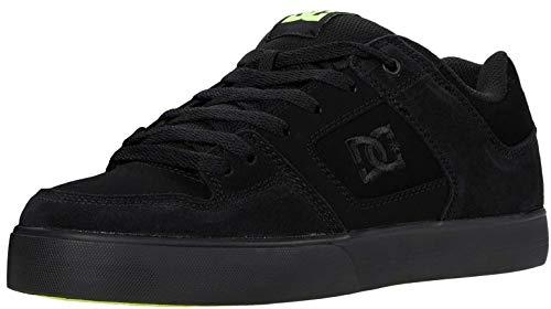 DC Shoes Pure - Leather Shoes for Men - Lederschuhe - Männer - EU 42 - Schwarz