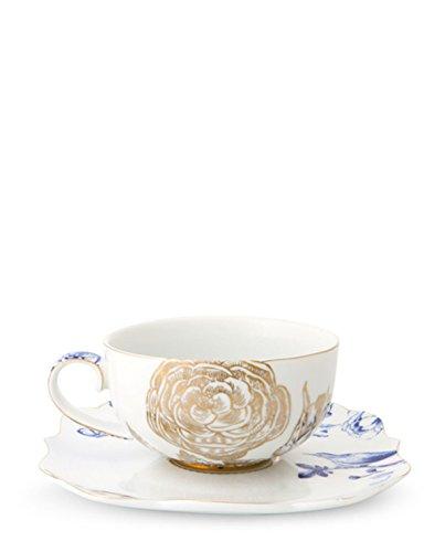 PIP Studio Kaffeetasse Royal White Tasse & Unterteller