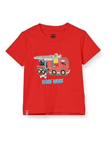 LEGO Jungen cm Duplo T-Shirt, Rot (Red 344), (Herstellergröße:98)