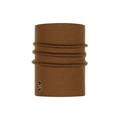Buff Heavyweight & Multi Stripes Nackenwärmer, Khaki Melange, One Size