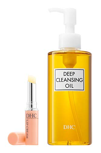DHC Deep Cleansing Oil, 6.7 fl. oz & Lip Cream, 0.05 oz.