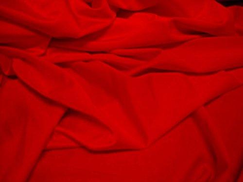 StoffBook ROT BI-STRETCH LYCRA STOFF 20%ELASTHAN BADEANZUGSTOFF STOFFE, B475