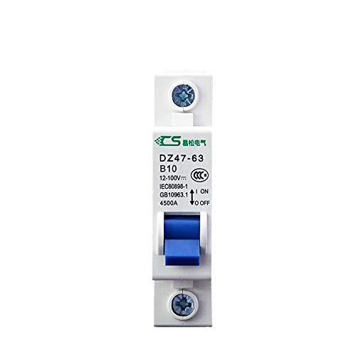 SUNER-EUR Interruptor de Aire Interruptor de Circuito pequeño Especial para vehículo eléctrico...