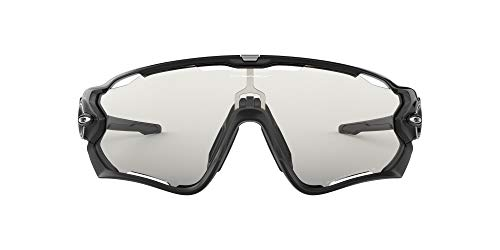 Oakley Unisex-Adult Sonnenbrille Jawbreaker Sunglasses, Schwarz (Negro Brillo), 1