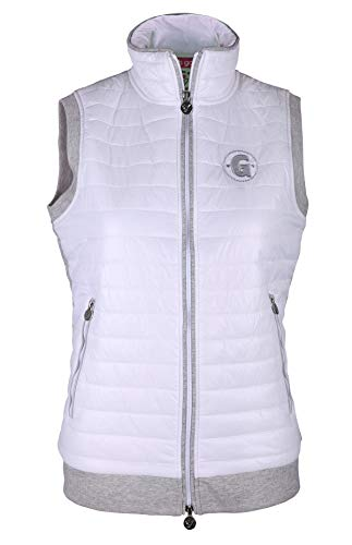 girls golf Ruffle vest dames wit
