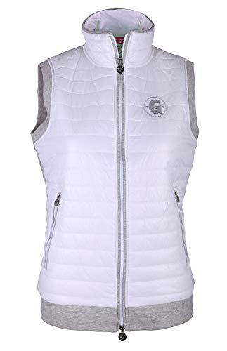 girls golf Ruffle vest dames wit