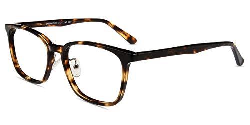 Firmoo Blaulicht Brille Entspiegelt ohne Sehstärke Damen Herren, Eckige Blaulichtfilter Computer Brille gegen Kopfschmerzen, Blendfrei, Kratzfest