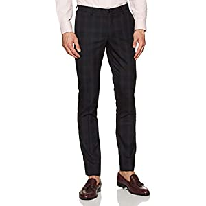 blackberrys Men's Slim Fit Formal Trousers 6
