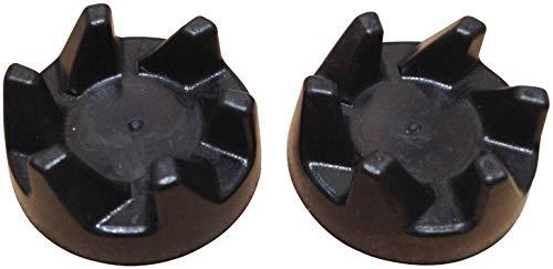 Pack de 2 acopladores de embrague de goma para licuadora WP9704230. Compatible con modelos a partir de 5KSB3, KSB3, KSB5, 5KSB52 y 5KSB5
