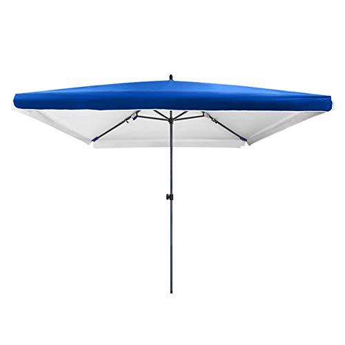 CYY Sombrilla de Jardín,Rectangular Sombrilla Parasol con 4 Varillas Resistentes,Sombrilla de Playa...